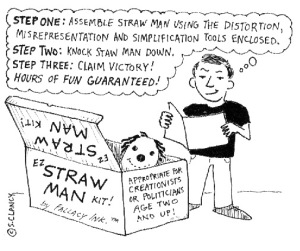 Strawman Cartoon